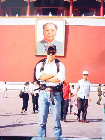 大きな旅行カバンを背負って中国各地、合計15か所を旅しました。北京の名所旧跡は沢山観ましたよ。